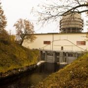 Lernbo kraftstation efter